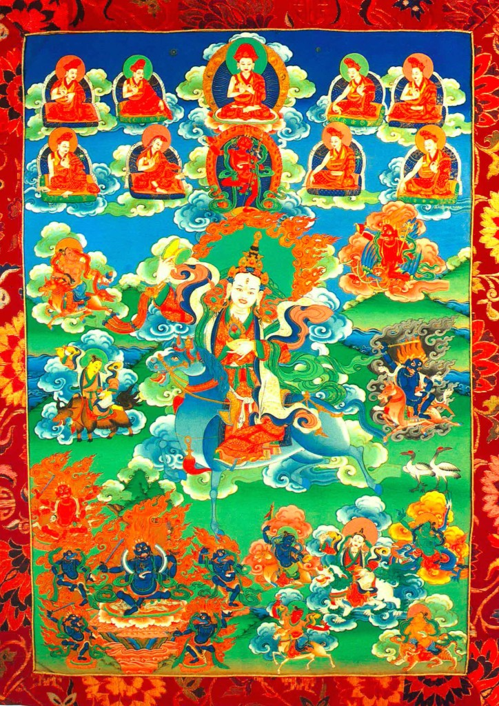 Wrathful Achi from Ayang Rinpoche